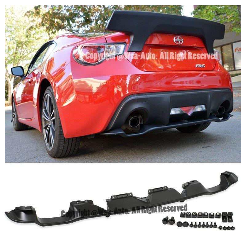 For 13 Up Scion Fr S Subaru Brz Oe Rear Bumper Lower Diffuser Lip Spoiler Kit Subaru Brz Subaru Scion