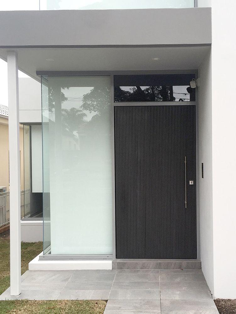 Pewter Doric Door & Pewter Doric Door | Door/1 | Pinterest | Pewter Doors and Concrete ...