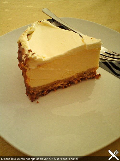 Der unglaublich cremige NY Cheese Cake   Pinterest   Cheese cakes ...
