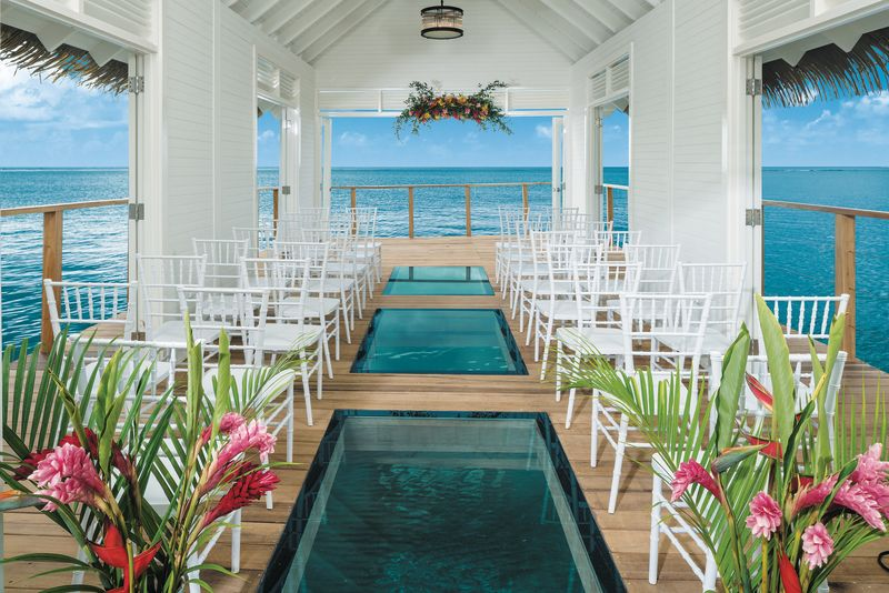 An over-the-water wedding chapel! Can you picture yourself ...
