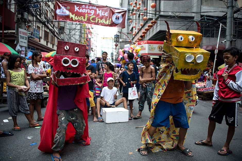 Here are some pictures of Chinese New Year celebrations