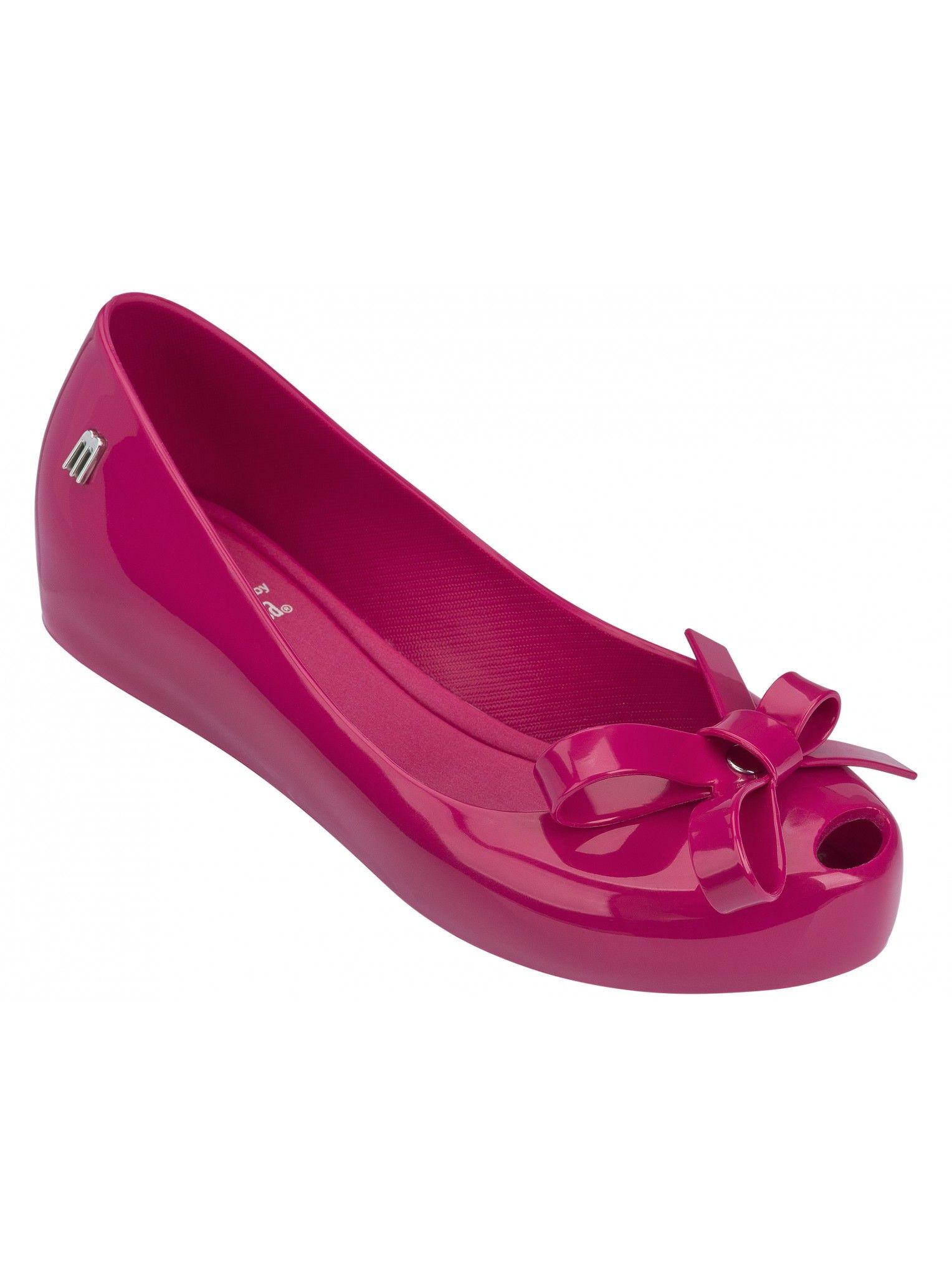 Kids Ultragirl Tie Pink | Melissa Shoes for Kids | NONNON.co.uk
