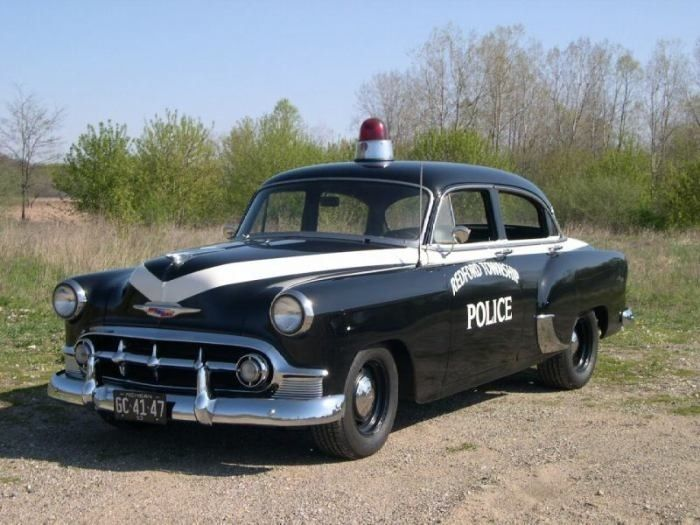 50's Cop Car - Google Search