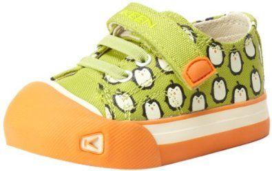 Oliver - KEEN Coronado Print Sneaker Chartreuse Penguin