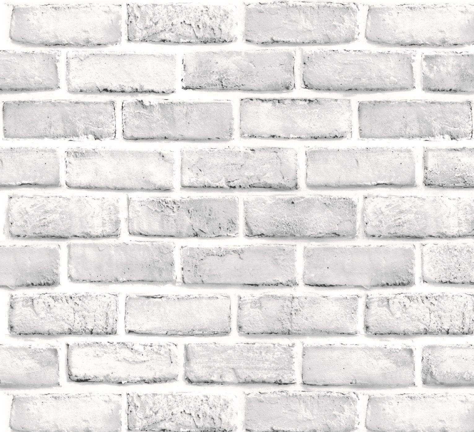 Papel Tapiz Ladrillos Blancos Autoadherible Pared Fondo De Pantalla De Ladrillo Ladrillos Blancos Papel Tapiz