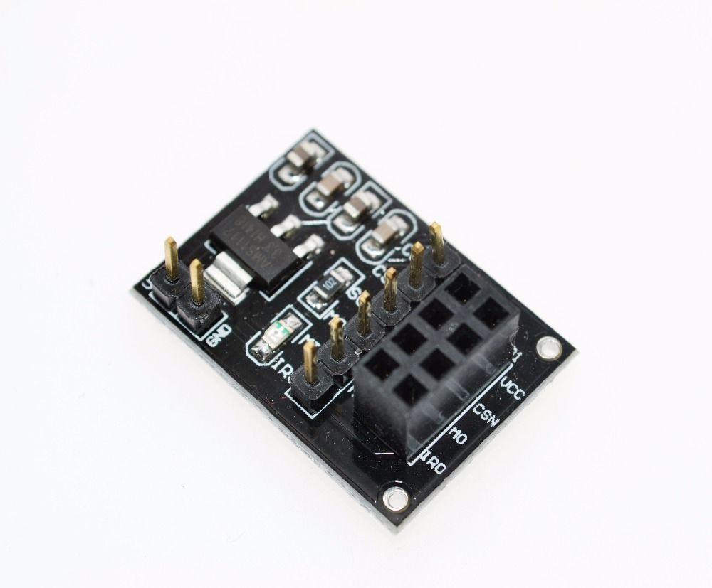 NRF24L01 Wireless adapter module New Socket Adapter plate Board for ...