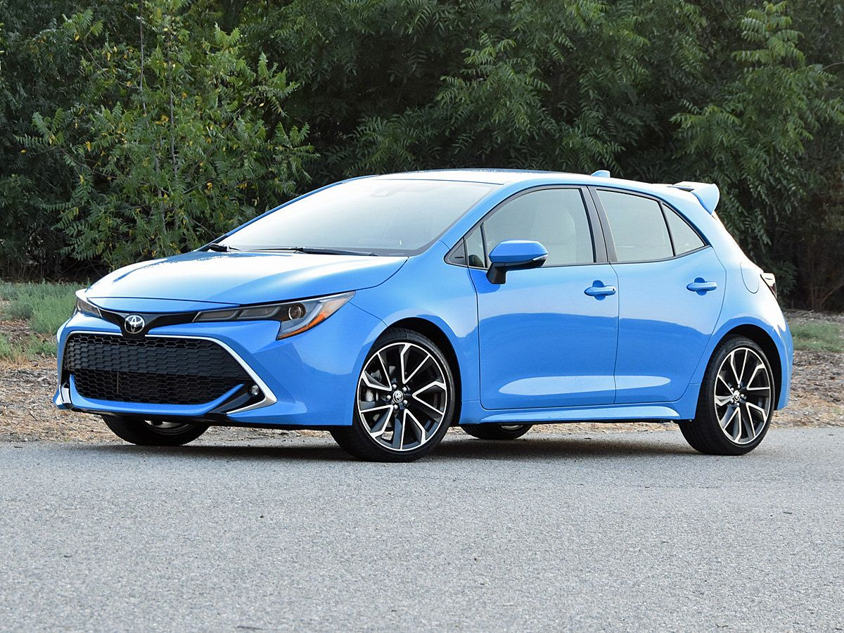 2019 Toyota Corolla Hatchback Pictures CarGurus in