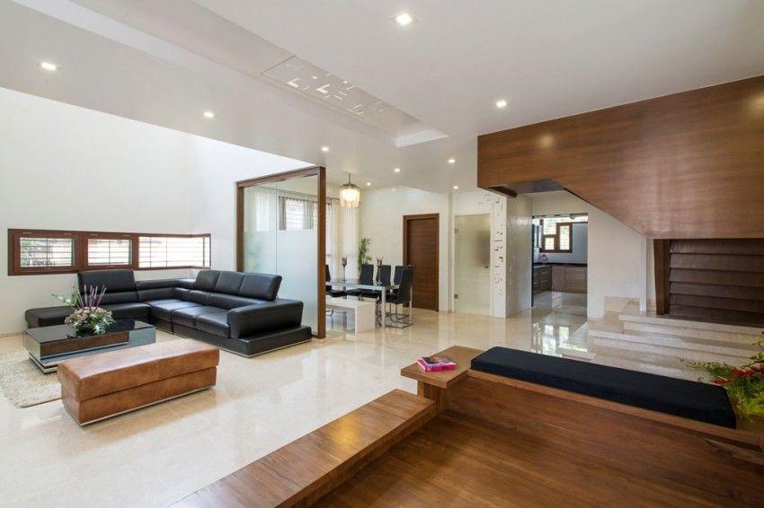 diseo de interiores de moderna sala