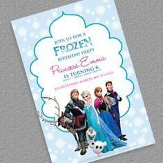 Free frozen birthday invitation template frozen pinterest free wedding invitation templates part 7 stopboris Image collections