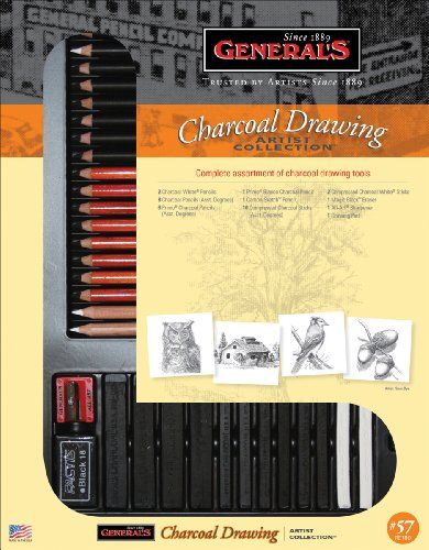 Charcoal Drawing Art Set