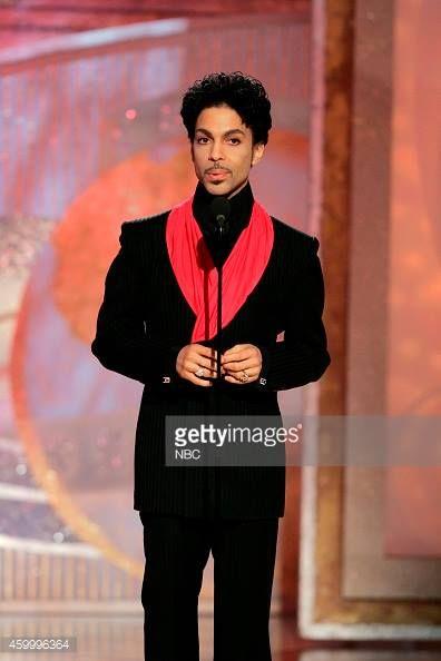 Prince - Golden Globe Awards 2005