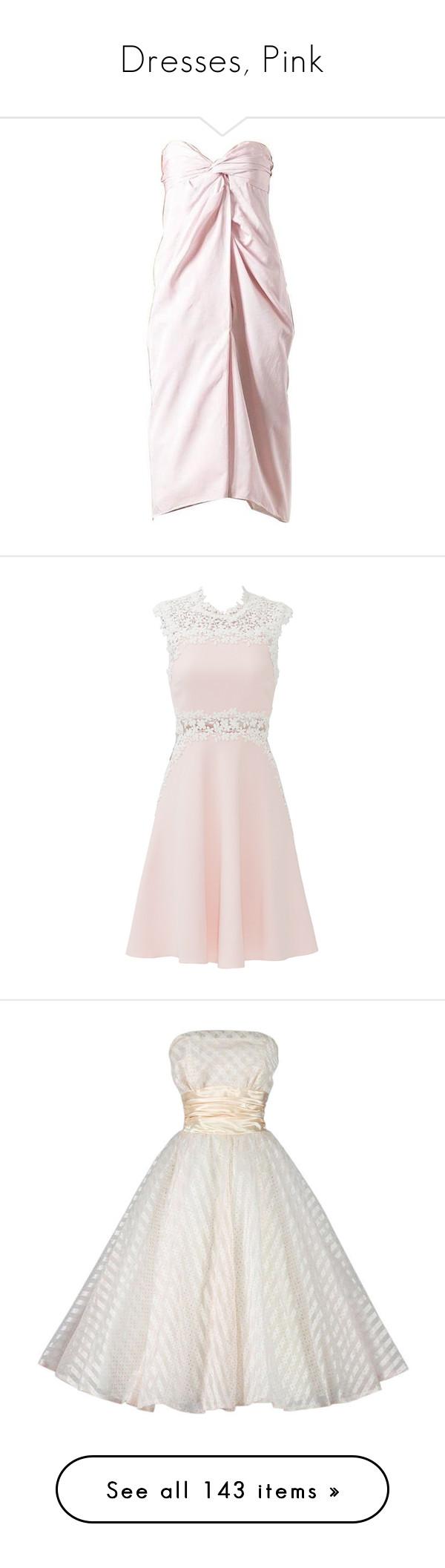 Dresses, Pink\