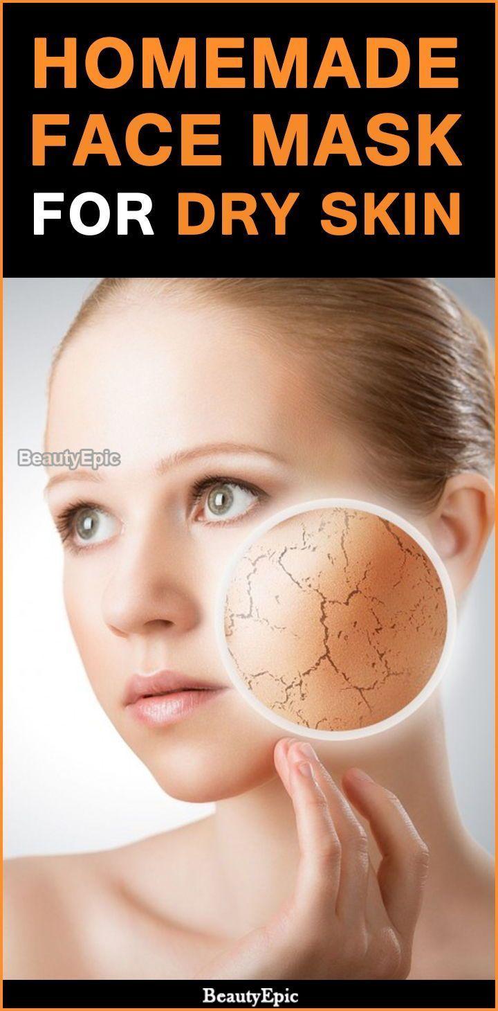 Homemade Face Masks for Dry Skin dryskin skincare DIYFaceMask