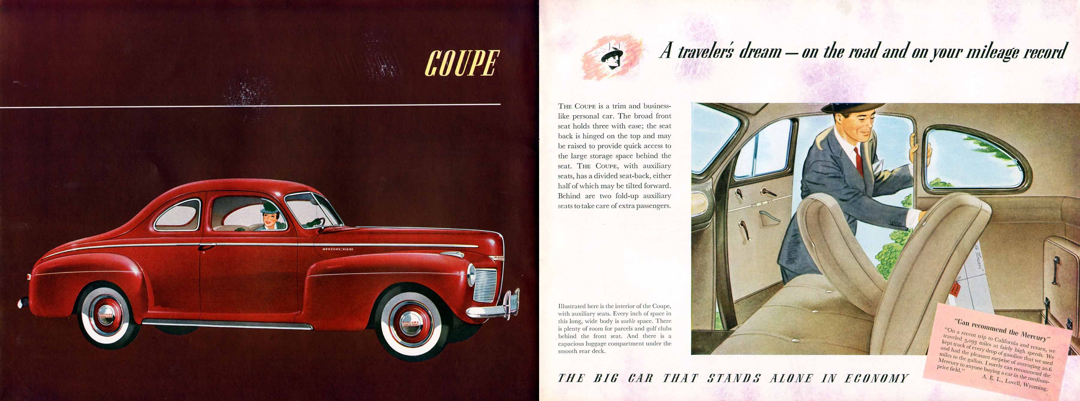 1941 Mercury Coupe Products I Love Pinterest 4 Door Sedan Cars Car Brochure Illustration Ford Motor Company