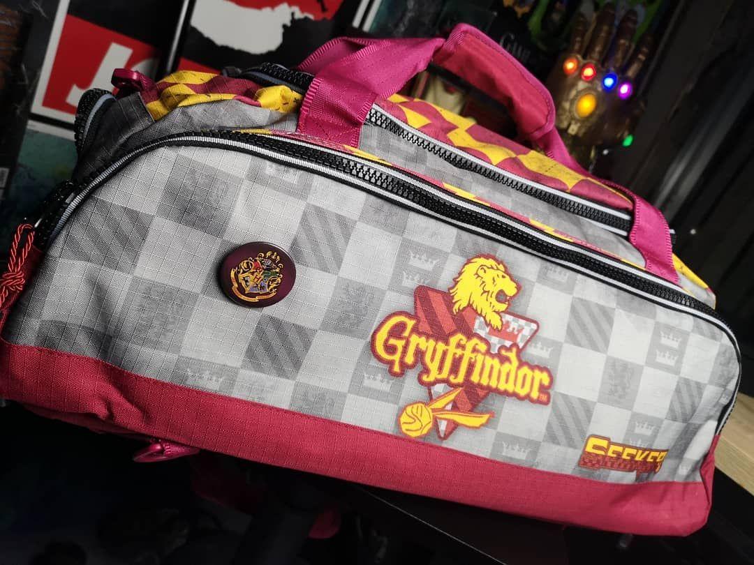 100/% official Harry Potter Two Pocket Lunch Bag Hogwarts Crest