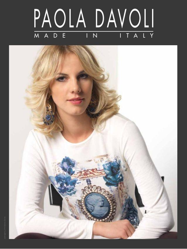 Paola Davoli fashion knitwear