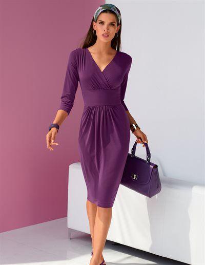 MADELEINE - La robe - mauve