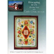 Rosemaling in Os with Gayle Oram - DVD Instructional Video