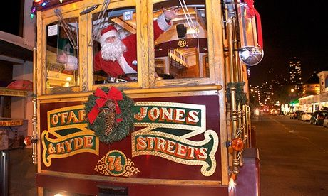 Classic Cable Cars Christmas Lights Tour Holiday Nights