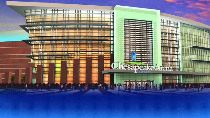 Chesapeake Energy Arena - Let's go Thunder!