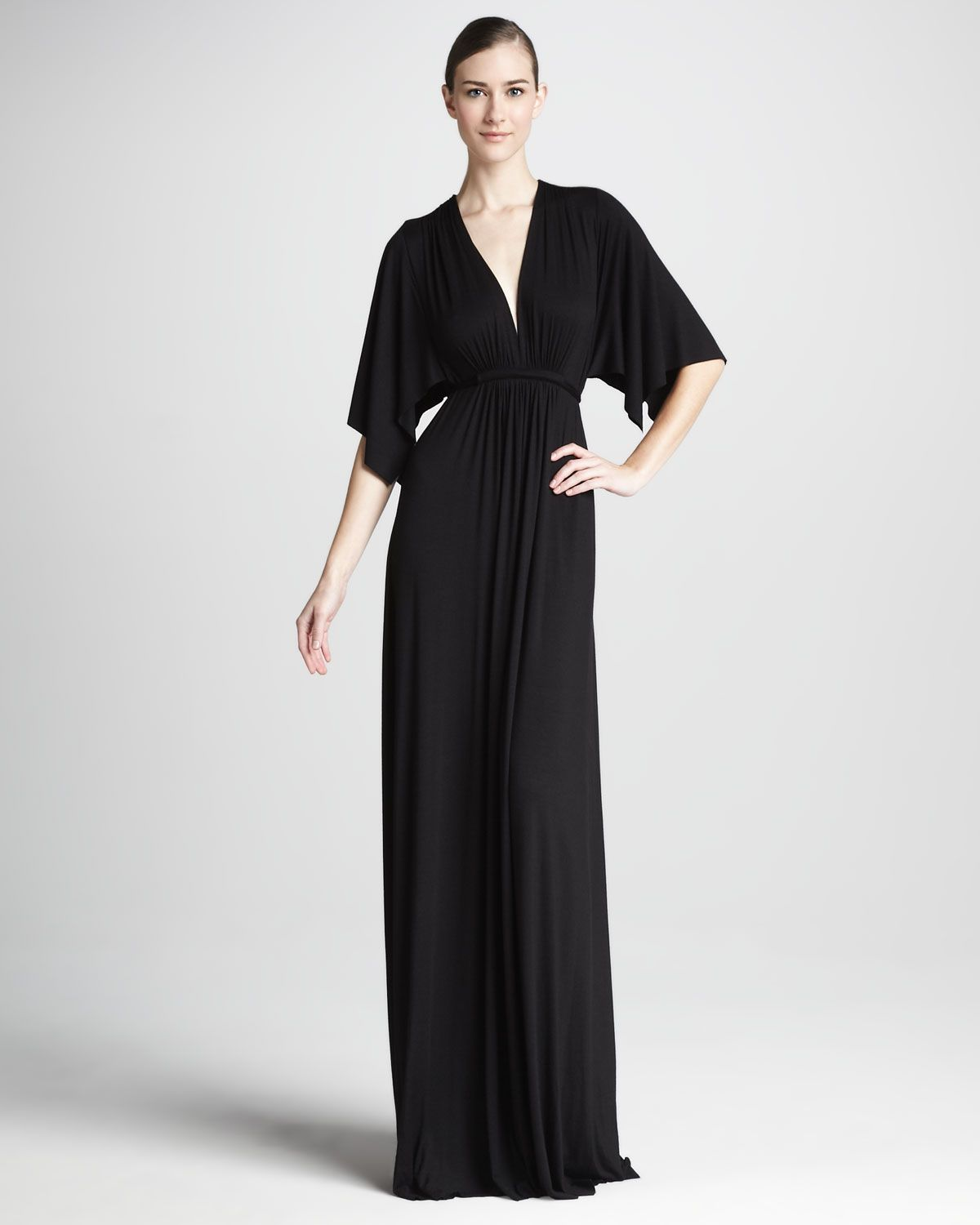 Rachel pally solid black caftan maxi dress womens black maxi solid black caftan maxi dress womens by rachel pally at neiman marcus ombrellifo Image collections