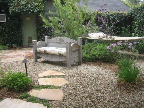 small rock garden where grass wont grow Google Search