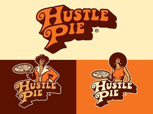 Hustle Pie Branding by Emir Ayouni