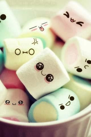 Iphone Cute Girly Wallpaper Cute Girl Wallpaper Cute Marshmallows Cute Wallpaper For Phone