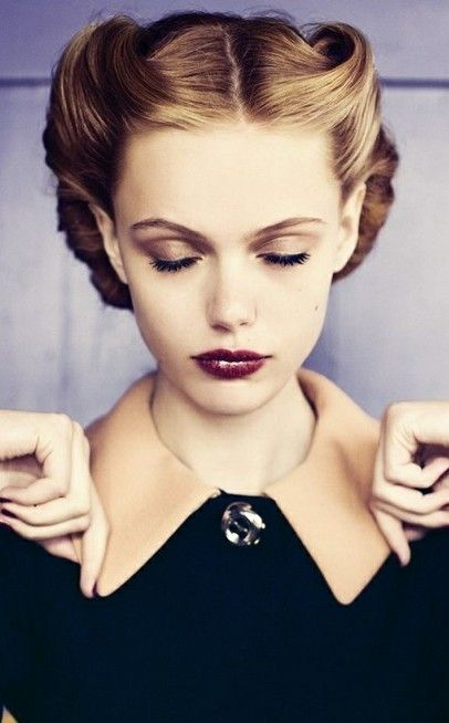 1930s hairstyles on pinterest 1930s hair 1930s makeup