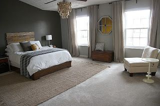 More pictures of area rugs over carpeting. | For the Home ...