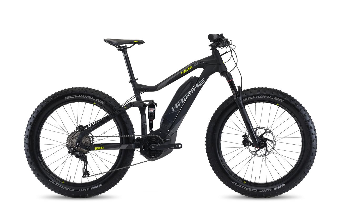 Haibike Sduro Full Fatsix 7 0 2017 Electric Bike Bicycle Mountain Bike Equipment