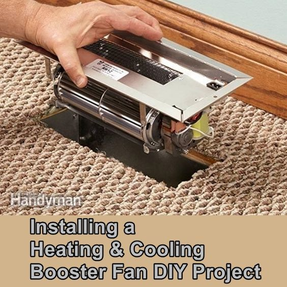 Installing A Heating Cooling Booster Fan Diy Project Homesteading The Homestead Survival Com