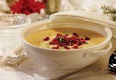 Potage aux légumes blancs #recette #noel #potage