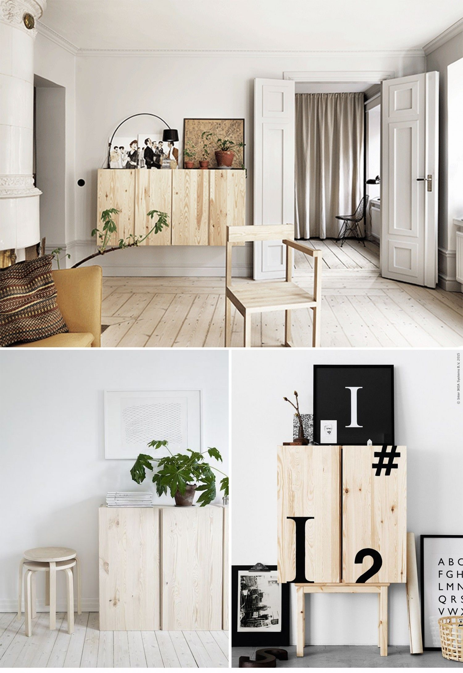 meuble ivar portes pin brut ikea hacks pinterest brut pin et portes. Black Bedroom Furniture Sets. Home Design Ideas