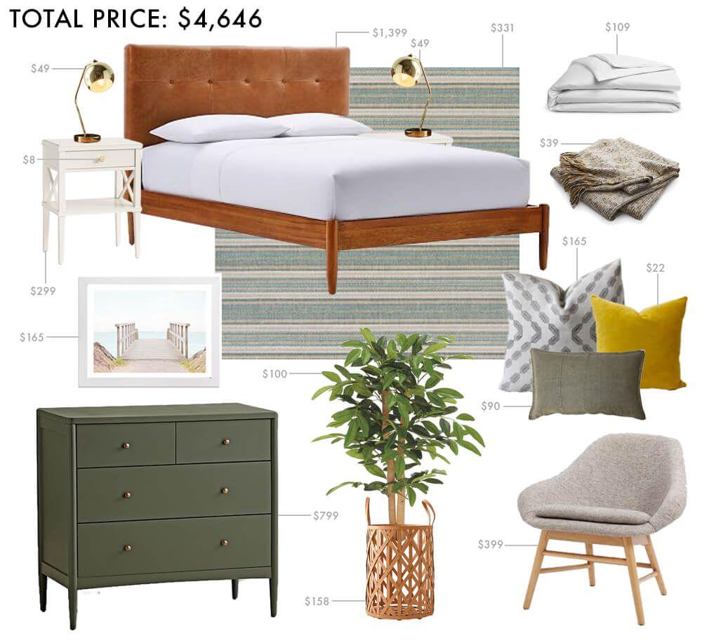 One Bedroom, Three TINY Budgets