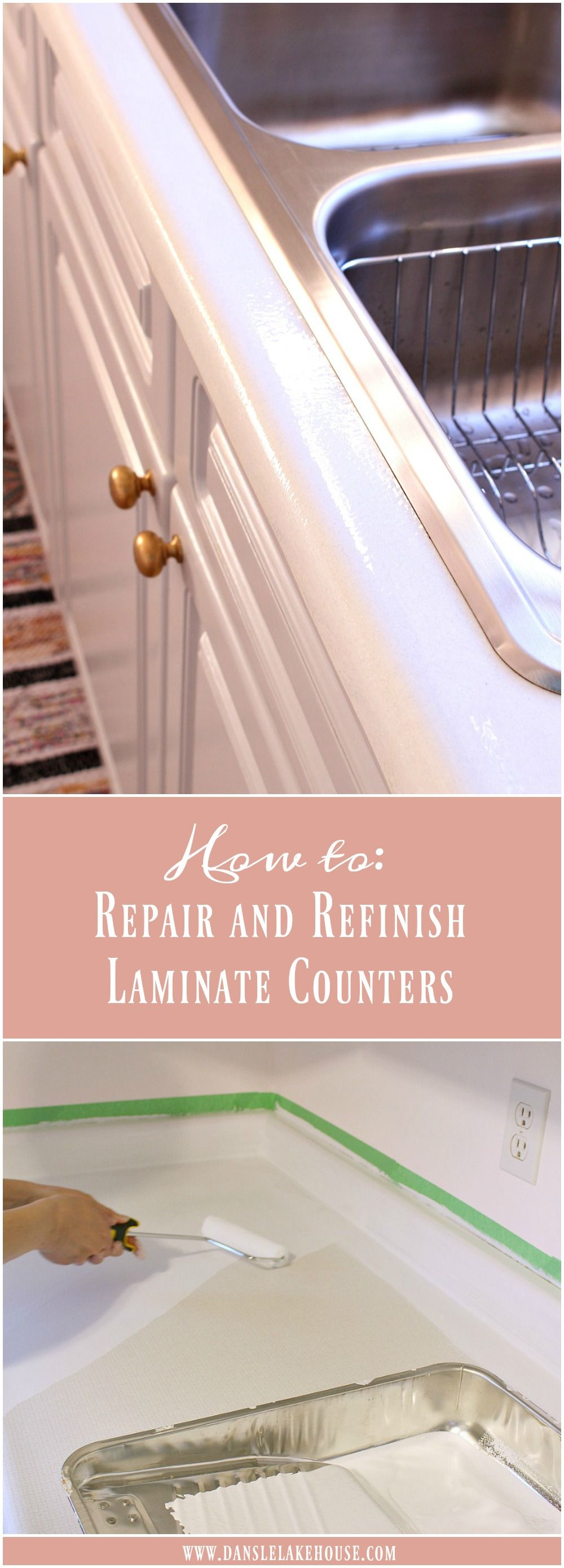 How To Repair And Refinish Laminate Counters Laminate