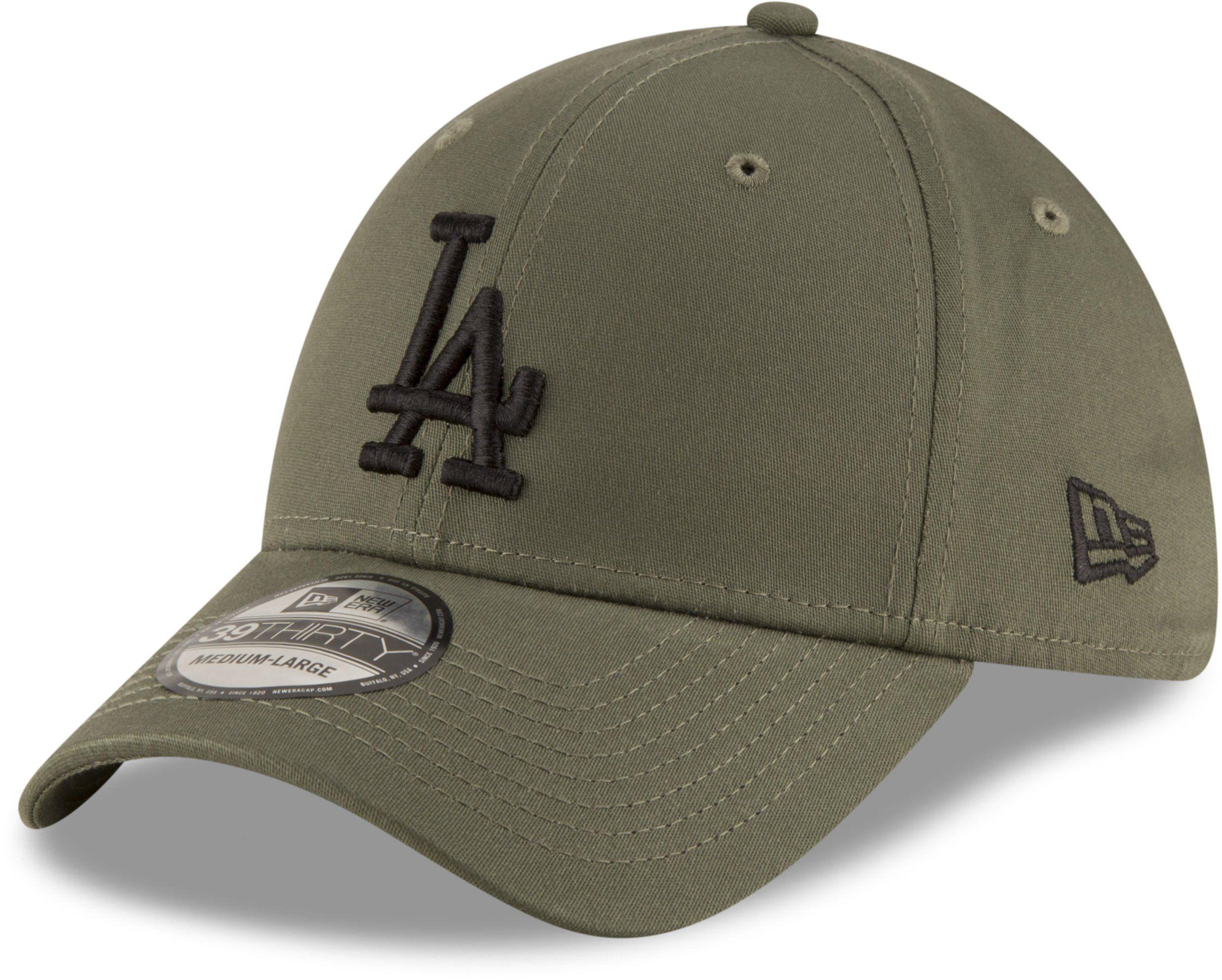 ca8d4c43a0b LA Dodgers New Era 3930 League Essential Khaki Stretch Fit Baseball Ca –  lovemycap