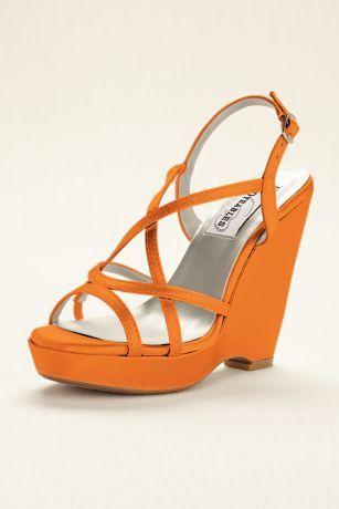 487548f8c9 Dyeable Platform Wedge Sandal Dee   Wedding Shoes   Platform wedge ...