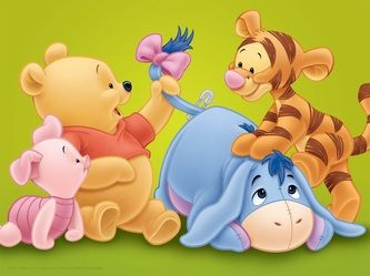 Spectacular winnie the pooh and friends kids canvas http canvaskings weebly