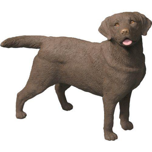Sandicast Original Size Chocolate Labrador Retriever Sculpture Standing By Sandicast 33 98 Chocolate Labrador Retriever Labrador Retriever Animal Sculptures