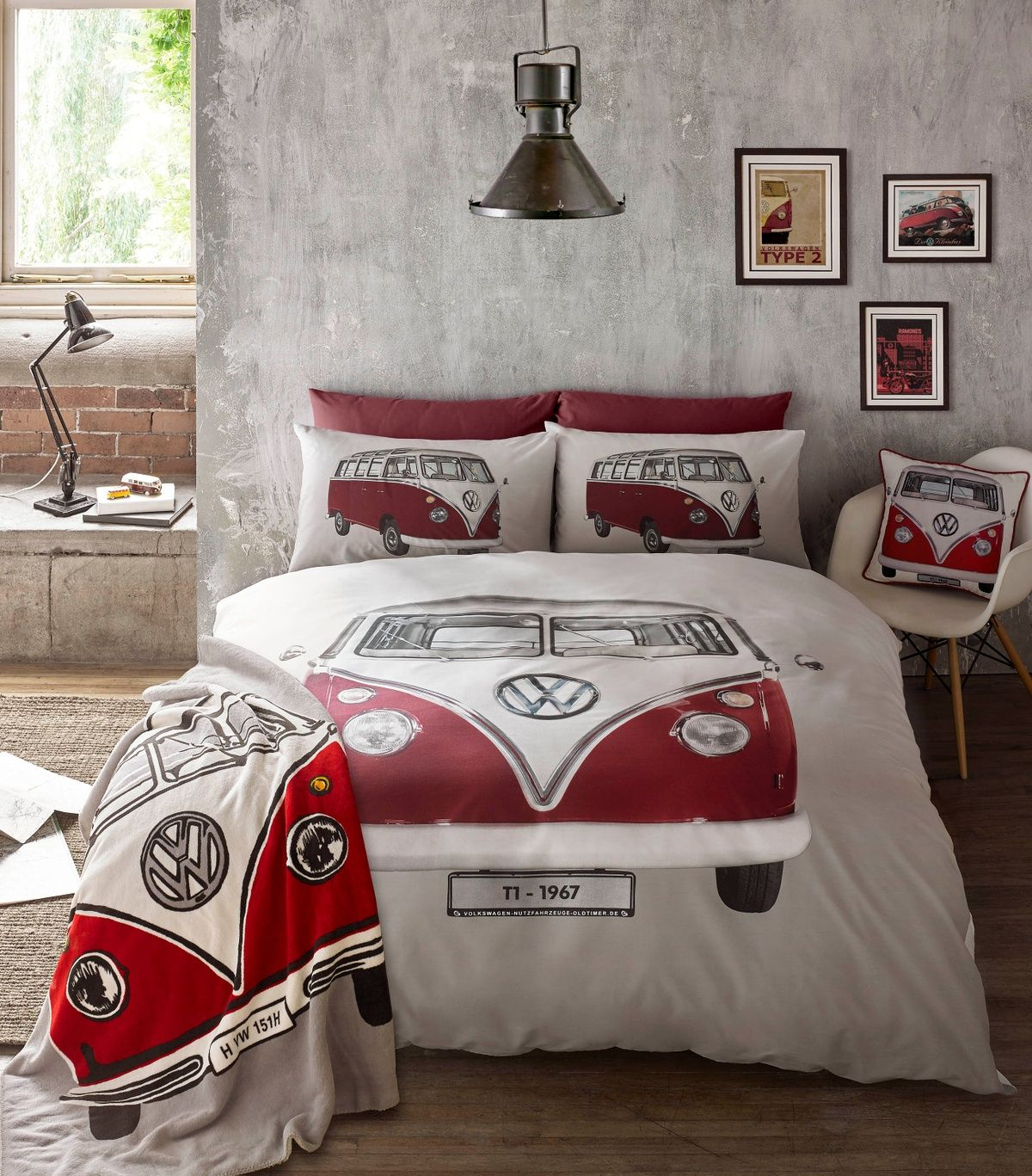 Vw Bulli Bettwäsche Official Vw Bedding Sets