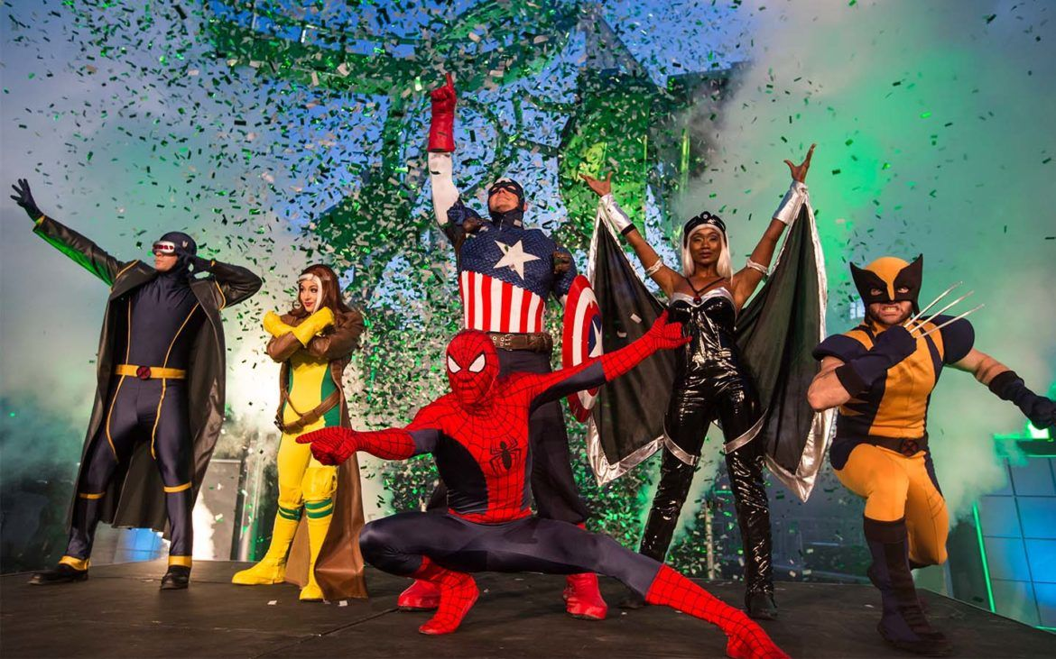 meet marvel super heroes in orlando florida