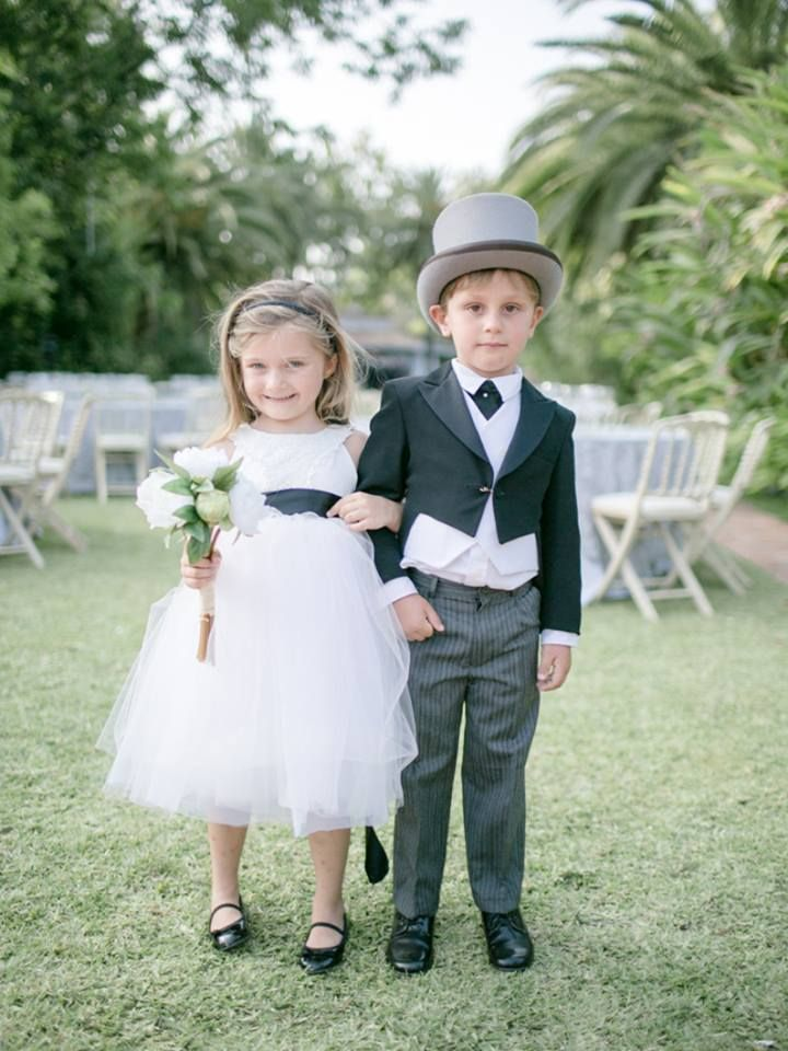 This is what my flower girl and ringbearer will wear!