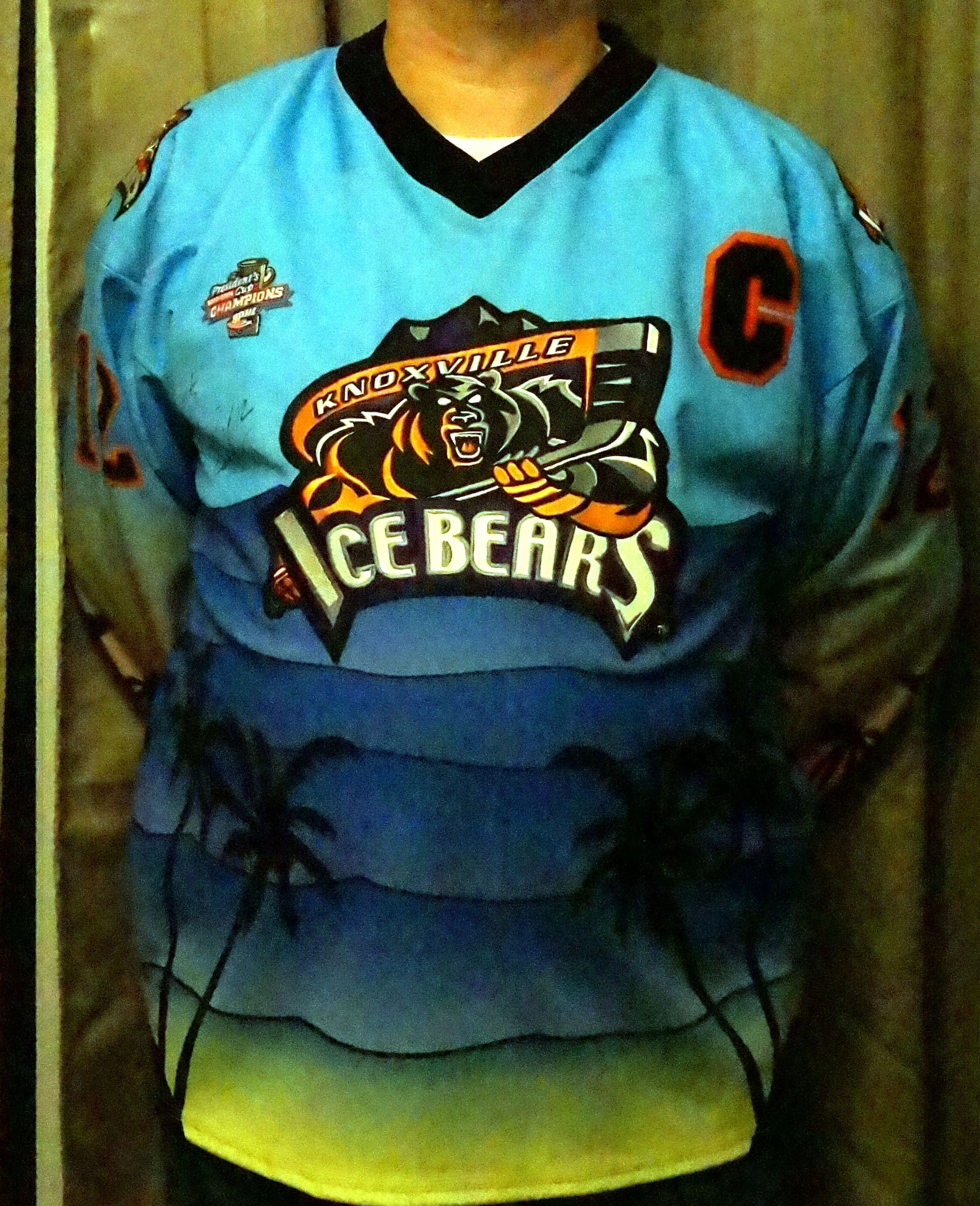 Knoxville Ice Bears hockey jersey - Google Search  94d8a8aaa94