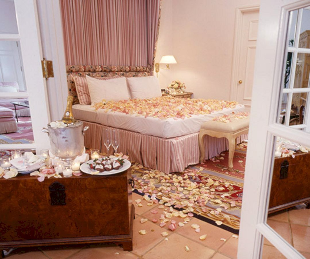 Room Decoration Ideas For Wedding Night Bed Decoration Ideas
