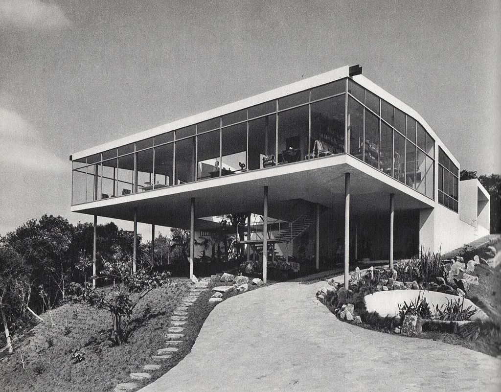 Glass house sao paulo lina bo bardi 1951 by peter scheier