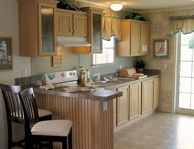 24 Rv Camper Design Ideas For Prepare Summer Your Vacation Mobile Home Kitchen Cabinets Mobile Home Kitchen Kitchen Renovation
