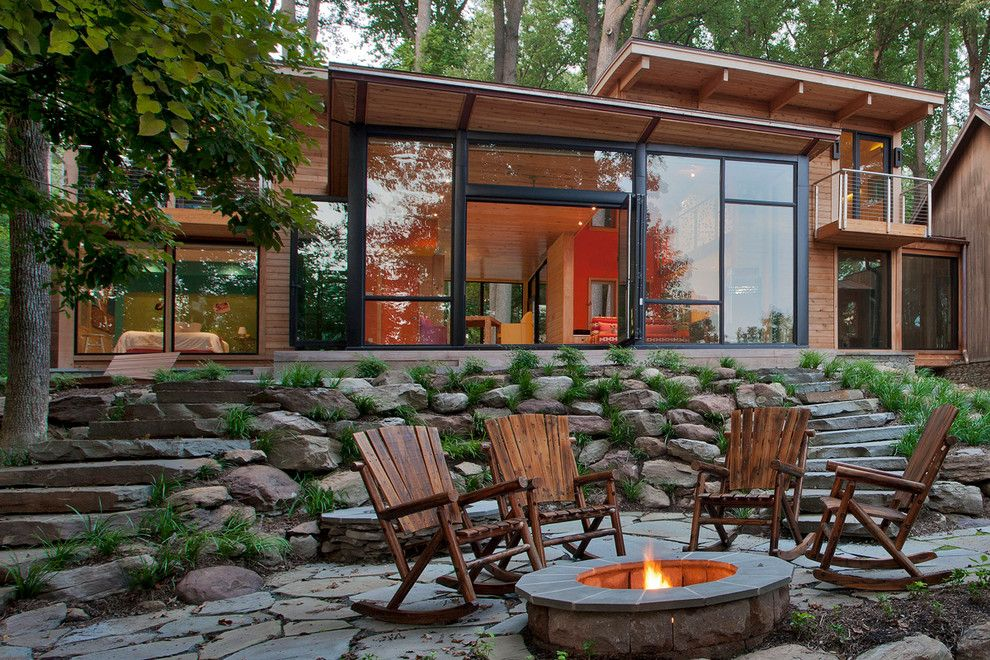 Cabin patio patio rustic with outdoor living wood chairs outdoor