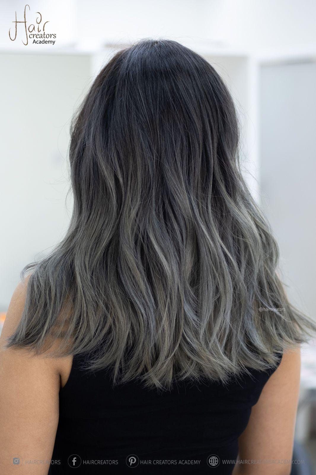 Ash Grey Hair Color   Ash hair color, Grey ombre hair, Grey hair color