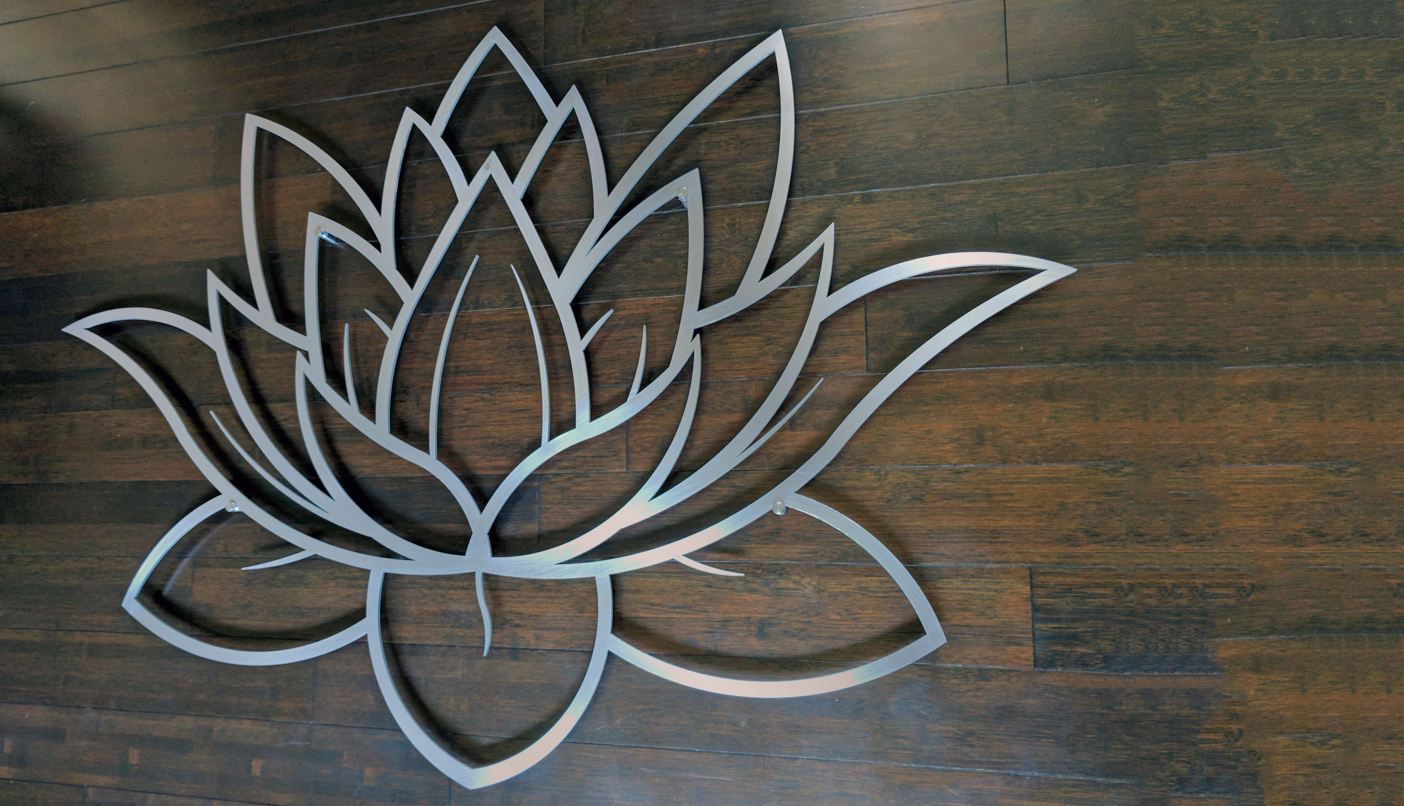 Metal wall art decorative laser cut panel sculpture for home office